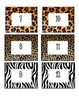 Animal Print Cubby Labels