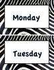 Animal Print (Days of the Week)