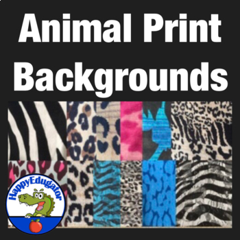 Animal Print Fabric Photo Backgrounds