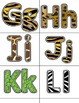 Animal Print Letters / Word Wall Phrases