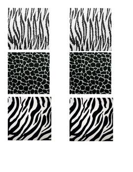 Animal Print Match