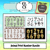 Animal Print Number Bundle