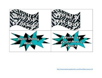 Animal Print Reward Coupons