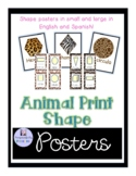 Animal Print Shape Signs