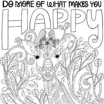animal printable coloring page do more of what makes you