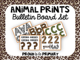 Animal Prints Bulletin Board set