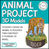 Animal Project - Adaptations & Evolution - 3D Model - PBL