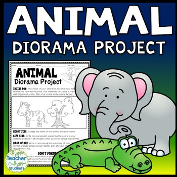 Animal Project: Decorate a Shoebox Diorama: Perfect for AN
