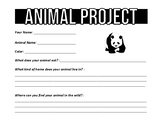 Animal Project! (Research)