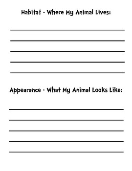 Animal Project Template