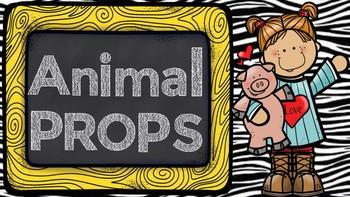 Animal Props for VIPKID ESL Online Teaching Props