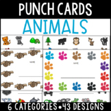 Animal Punch Cards