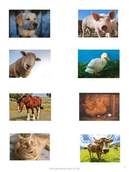 Animal Puzzle Board
