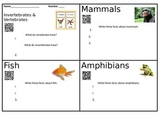 Animal QR Code Research Investigation with Comprehension Q