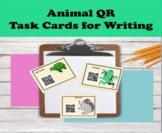 Animal QR code task cards