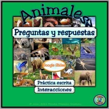 Animal Topic Questions & Responses / Preguntas y respuestas de animales
