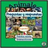 Animal Topic Questions & Responses - Preguntas y respuesta