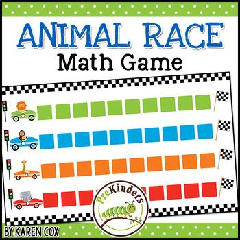 Animal Race Math Game