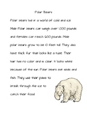 Animal Reading Passages