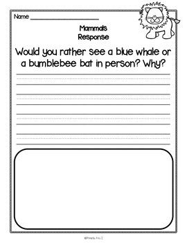 Animal Reading Passages {PLUS Comprehension Questions!}