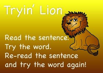 Animal Reading Strategies