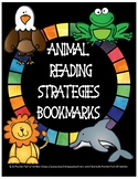 Animal Reading Strategies Bookmarks