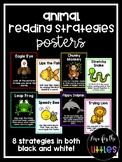 Animal Reading Strategies Posters