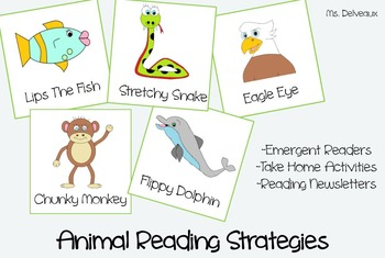 Animal Reading Strategies:Emergent Readers, Newsletters, a