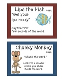 Animal Reading Strategy Cards
