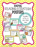 Animal Reading Strategy Posters