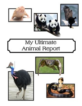 My Ultimate Animal Report