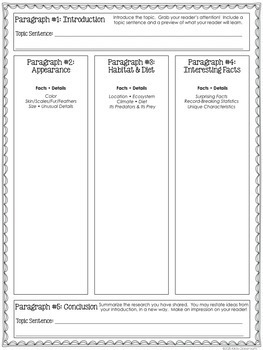 Animal Reports - A Lapbook for Animal Research & Informational Writing