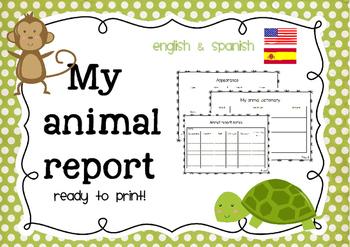 Animal Report (English & Spanish)