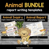 Animal Activities - Inquiry and Report Bundle (Digital & P