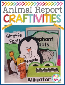 Animal Report Craftivities