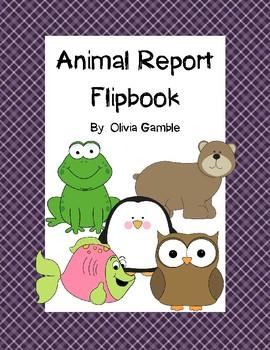 Animal Report Flipbook