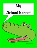 Animal Report For ELD Students 2nd Grade