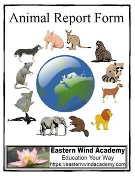 Animal Report Form