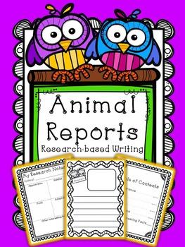 Informative Writing - Animal Report