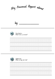 Animal Report Minibook