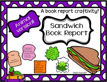 Animal Report {Sandwich Craftivity}
