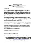 Animal Report Research Project Printable Life Science Adaptations