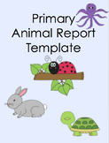 Animal Report Templete