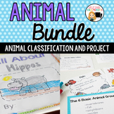 Animal Report and Animal Classification Bundle