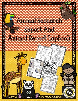 Animal Report and Lapbook