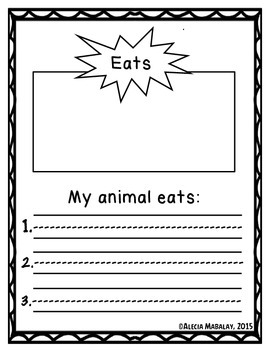 Animal Reports (Animal Bundle)