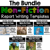 Animal Reports (BUNDLE PACK)- Informational Non-Fiction Report Writing