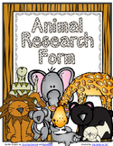 Animal Reports - Research Template & Writing Papers-UPDATED
