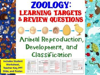 Animal Reproduction, Development, & Classification Learnin
