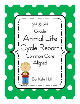 Animal Research Report- Common Core Aligned